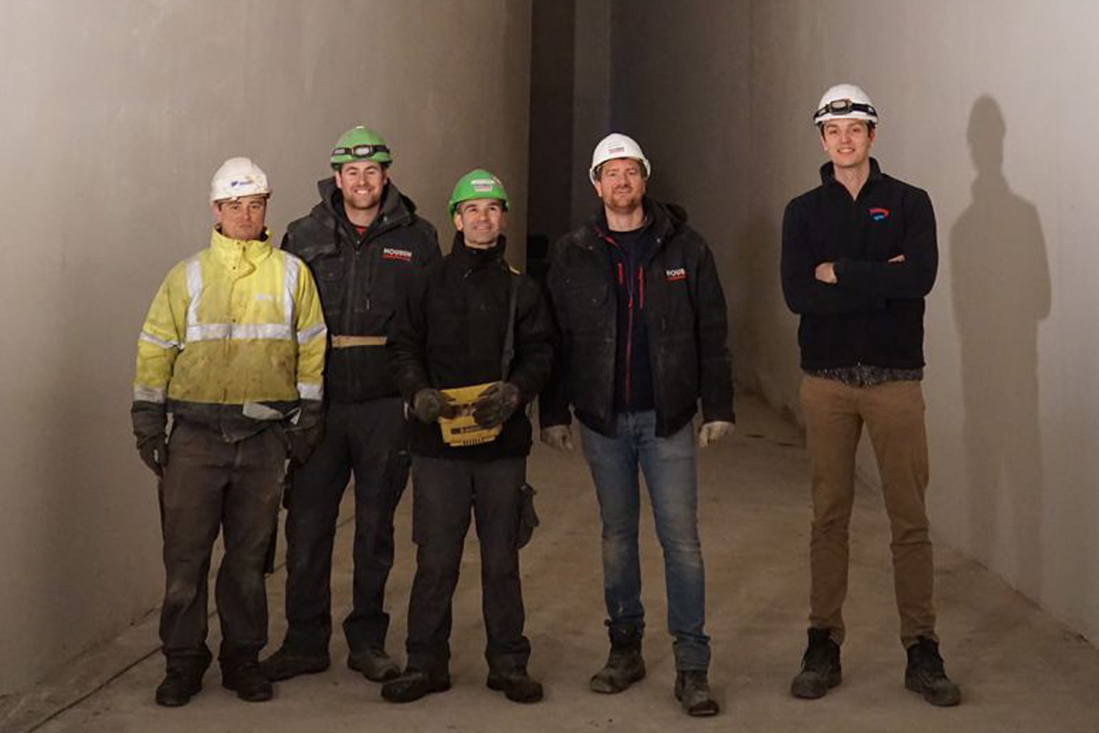 Het bouwteam dat het meesterwerk Z33 tot leven bracht