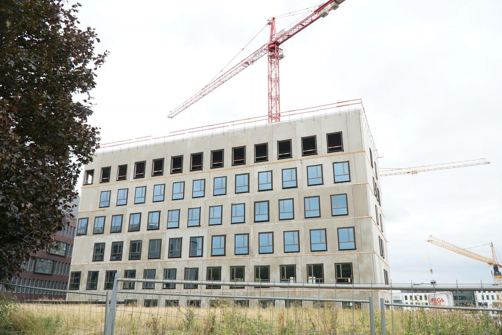 Acht verdiepingen van O&N5 in slechts drie maanden tijd