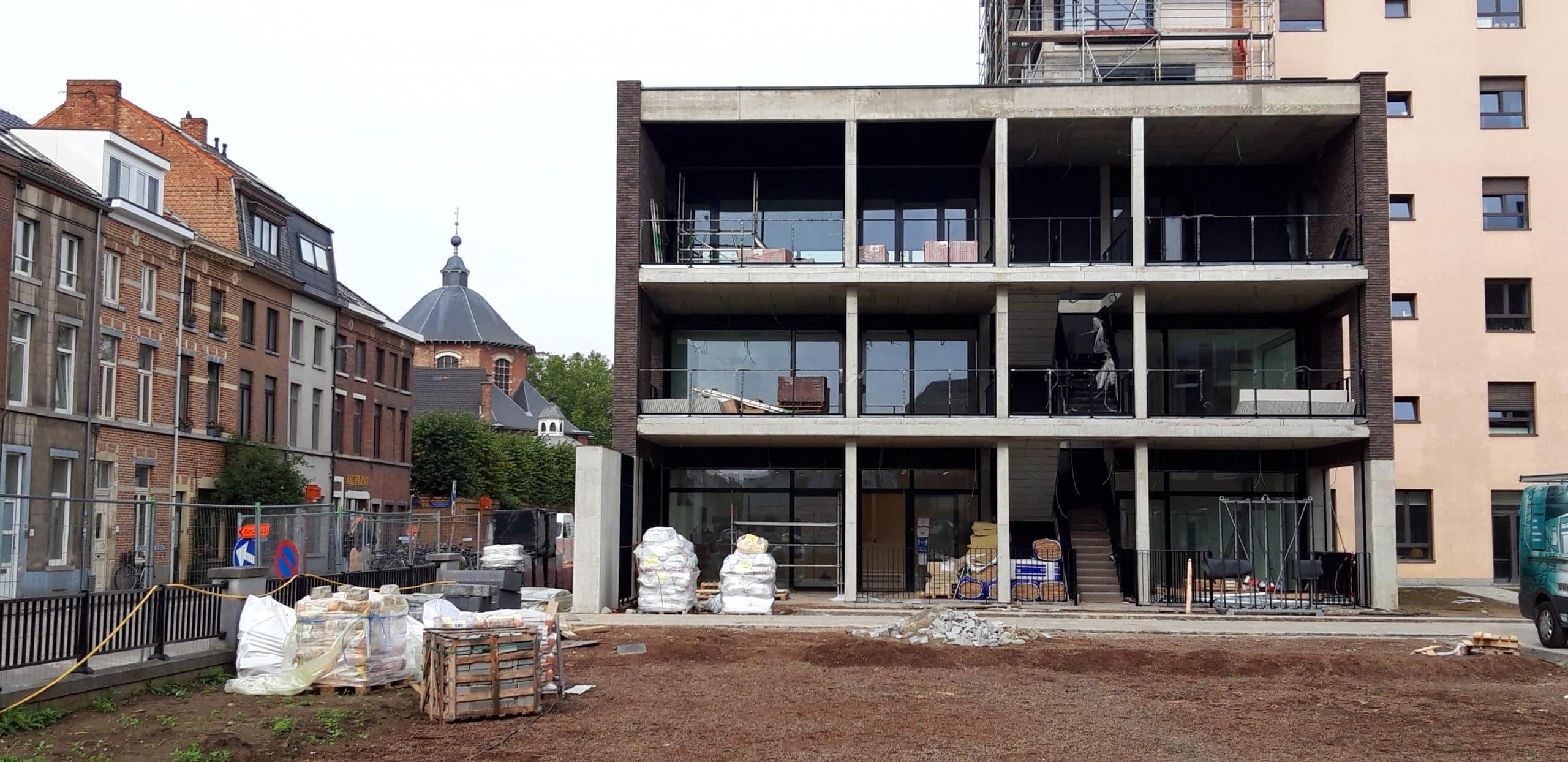 Edouard Remy-site Leuven: bouwen als verbinding tussen generaties