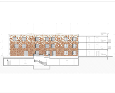 51 sociale appartementen – Mortsel