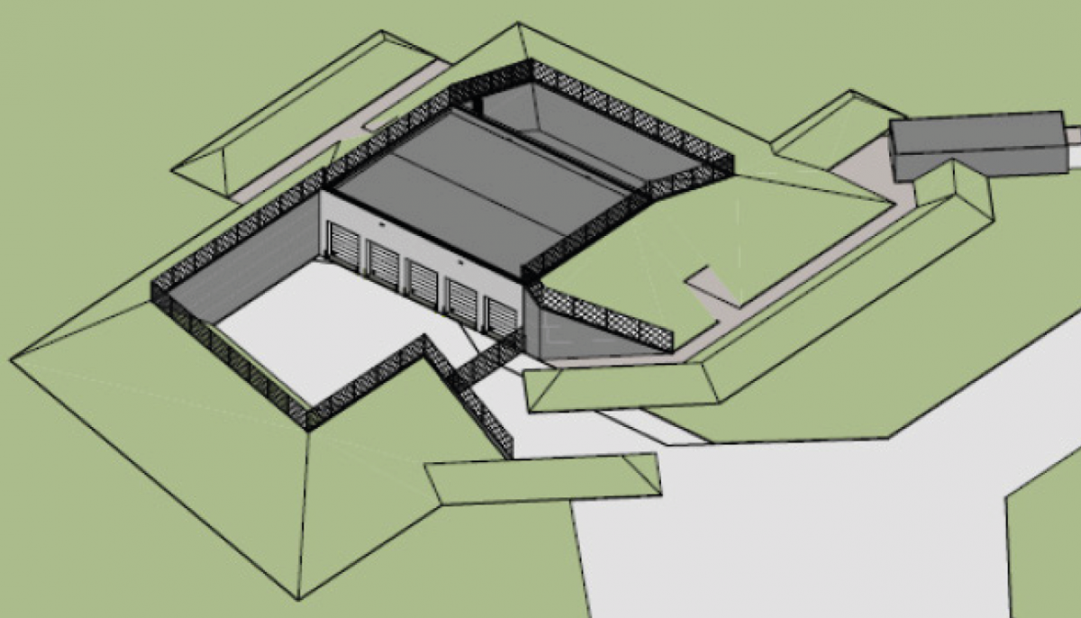 Security Control Center / Local Monitoring Facility