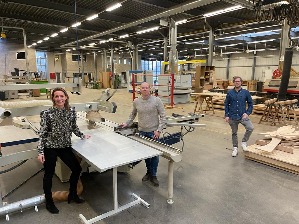 Woodfactory opent in Beringen: atelier wordt deelplek voor houtpassie